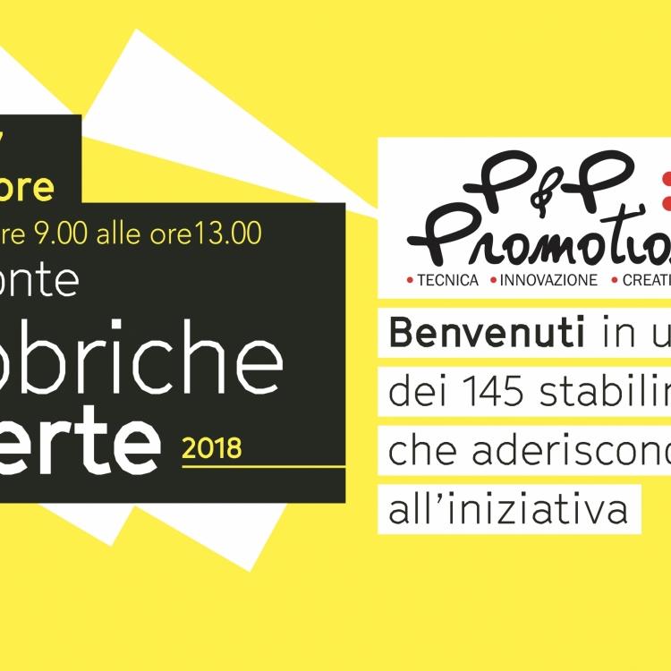 Fabbriche aperte 2018 P&P Promotion